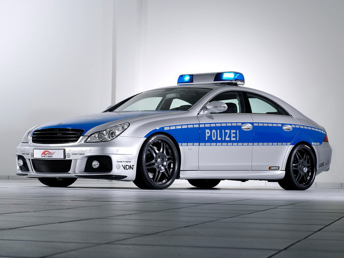Police Car Web Site