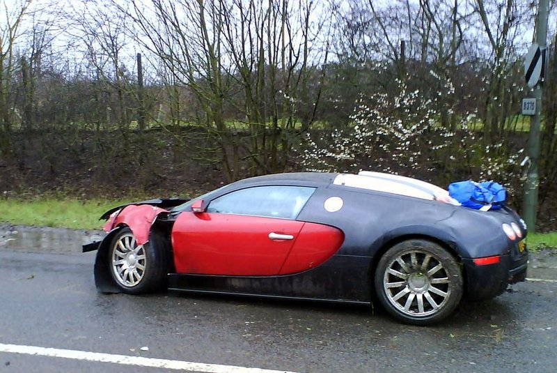 Foto de Accidente de un Bugatti Veyron