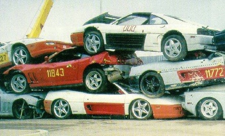 Accidentes Ferrari