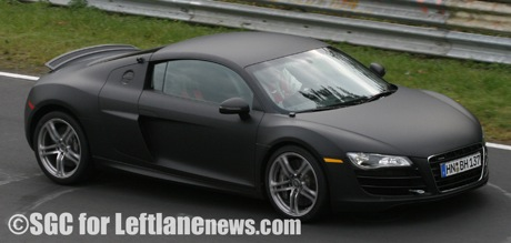 audi r8 v10 totalmente al descubierto en el ring. Black Bedroom Furniture Sets. Home Design Ideas