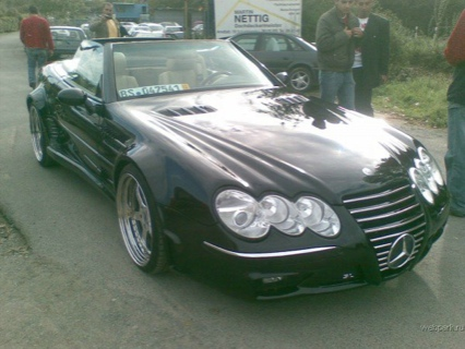 Mercedes SL marciano limited edition