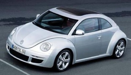 Ms recreaciones del prximo Volkswagen Beetle