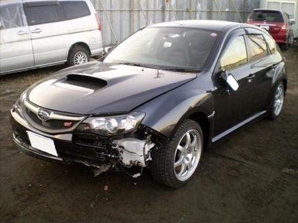 Subaru Impreza WRX STI accidentado