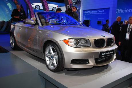 BMW 135i descapotable, fotos en directo desde Detroit