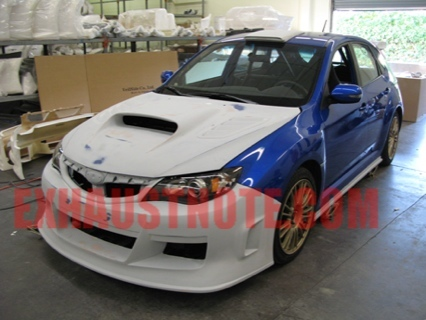 El Subaru Impreza de Paul Walker que empleará en The Fast and the Furious 4
