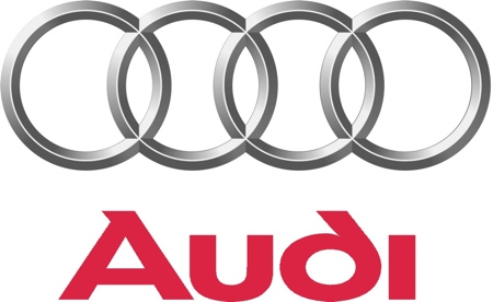 Audi Logo on 1990 Audi Engine Quattro Used