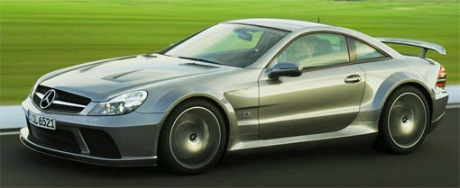 En vídeo y en movimiento: Mercedes SL65 AMG Black Series