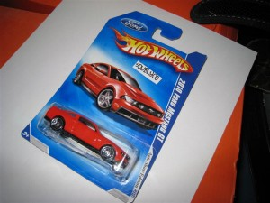 Nuevo Ford Mustang, ya en Hot Wheels