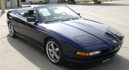 BMW 850i descapotable a la venta