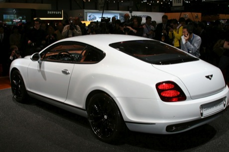 Bentley Continental Supersports, en Ginebra