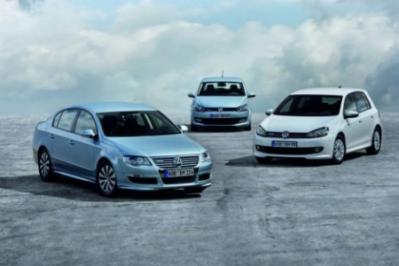 Volkswagen Bluemotion en Frankfurt: Polo, Golf y Passat