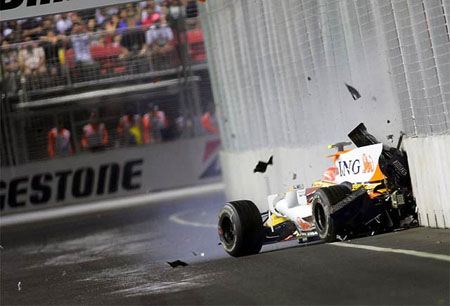 Pat Symonds confirma que el accidente de Piquet fue intencionado competicion