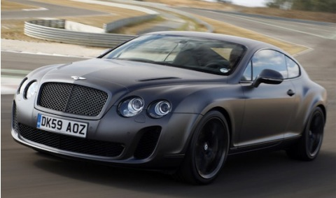 Los Bentley Continental se pasan al combusible E85