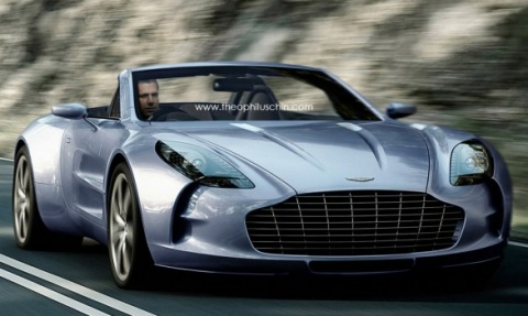 Aston Martin One-77 Volante