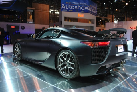 Nueva York 2011: Lexus LF A coupes