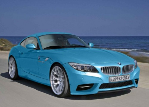 BMW Z4 Coupé, recreaciones
