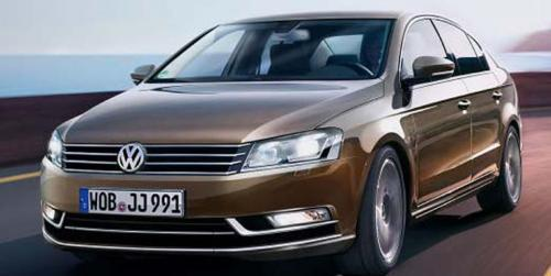 Nuevo Volkswagen Passat, otra recreacin ms