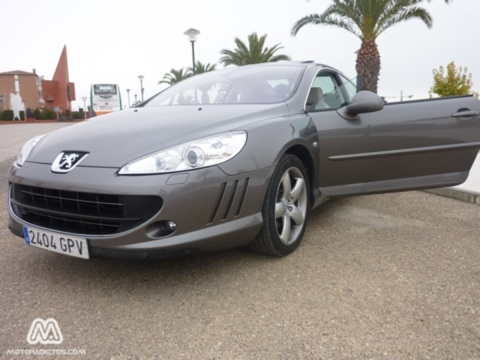 Prueba Peugeot 407 Coup 2.0 HDi (Parte 1)