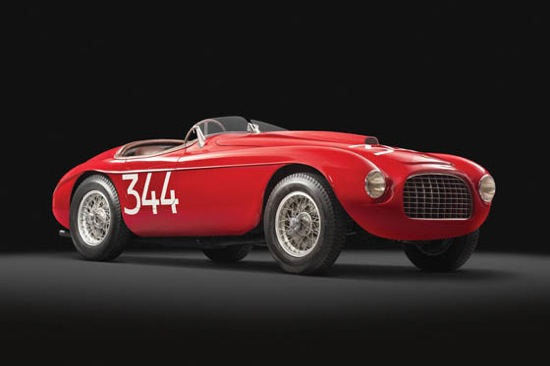 Ferrari 166 MM Touring Barchetta a subasta 