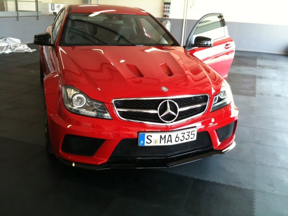 Mercedes C63 AMG Black Series Coup aparece totalmente al descubierto 