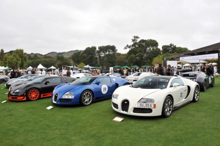 Reunión de Veyron en Pebble Beach