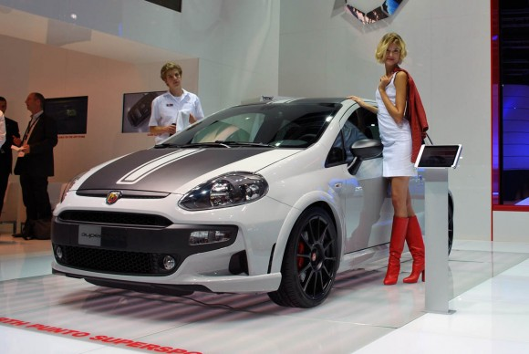 Frankfurt 2011: Abarth Punto Evo SuperSport