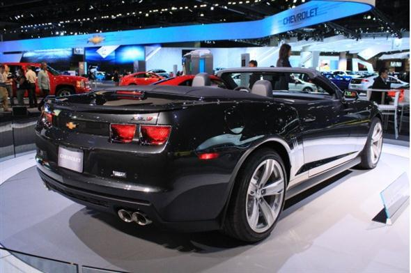 Los ngeles 2011: Chevrolet Camaro ZL1 Convertible
