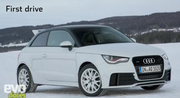 Audi A1 Quattro, video prueba by EVO