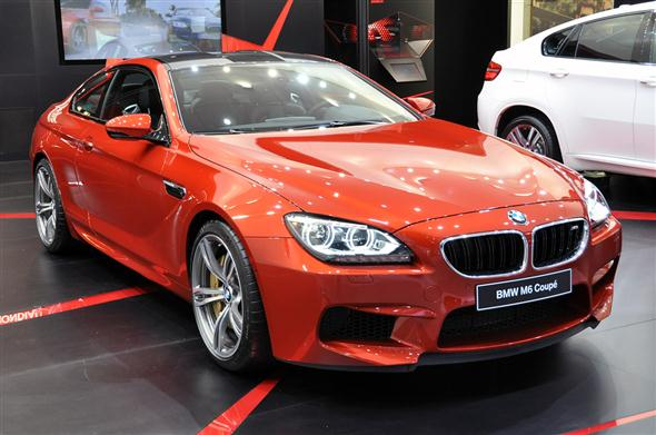 Ginebra 2012: BMW M6 Coupe