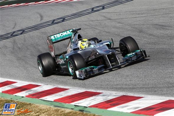 Nico Rosberg, muy optimista con Mercedes