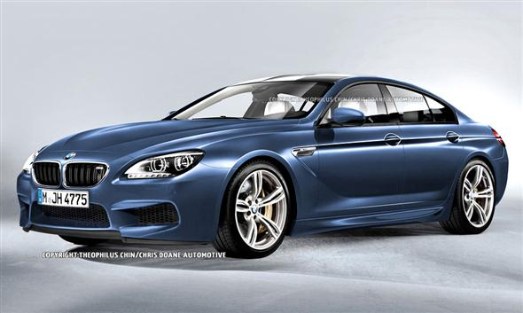 Recreación del BMW M6 Gran Coupe