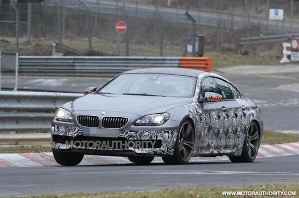 2013 BMW M6 Gran Coupe, fotos espía