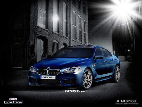 2013 BMW M6 Gran Coupe, recreaciones finales