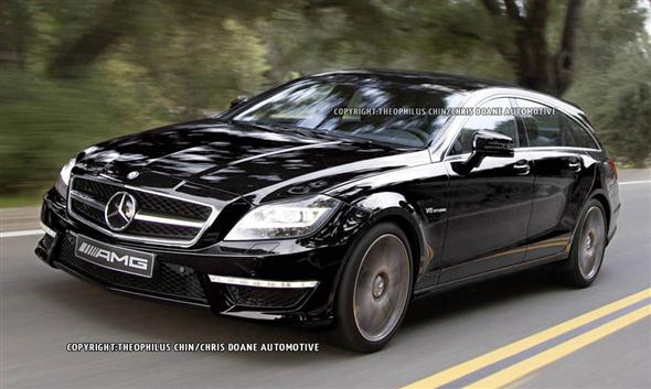 Mercedes CLS 63 AMG Shooting Brake, ilustraciones