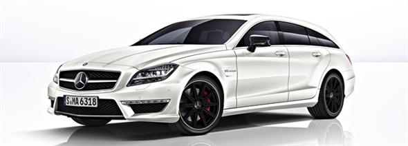 Mercedes CLS 63 AMG Shooting Brake, filtrado