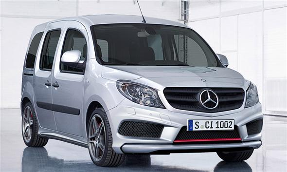 Mercedes Benz Citan AMG, quin sabe?