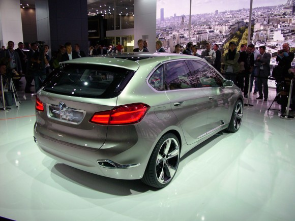 París 2012: BMW Concept Active Tourer