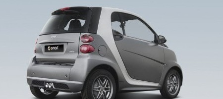 España: Smart Fortwo 'grey matt collection'