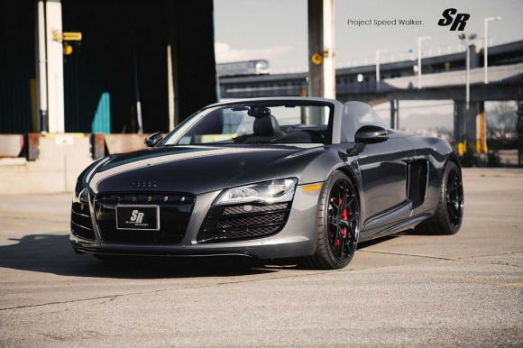 Audi R8 Spyder Project Speed Walker