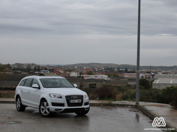 Prueba Audi Q7 V8 4.2 TDI 340 caballos (parte 1) 