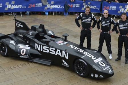 Chris Harris se sube al Nissan DeltaWing