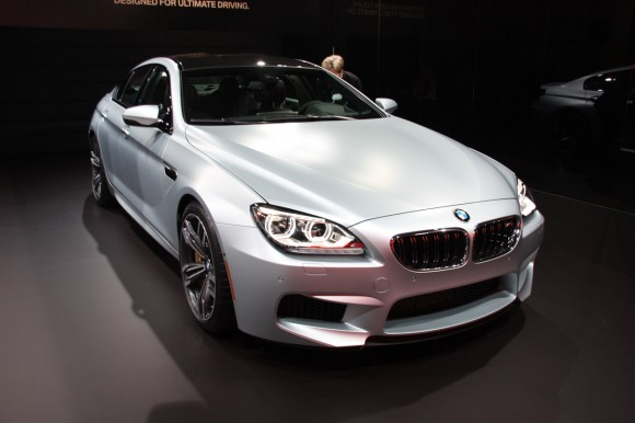 Detroit 2013: BMW M6 Gran Coupe