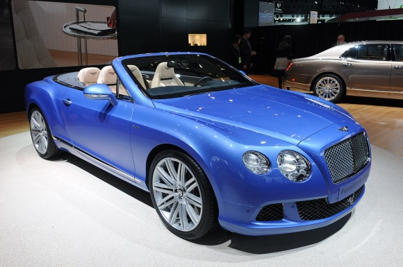 Detroit 2013: Bentley Continental GT Speed Convertible