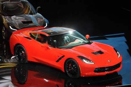 Detroit 2013: Chevrolet Corvette Stingray