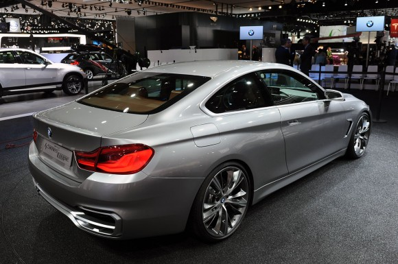 Detroit 2013: BMW Serie 4 Coup Concept