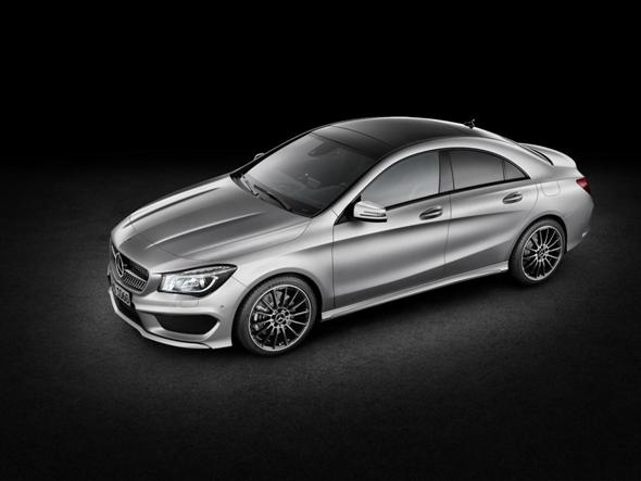 2014 Mercedes CLA, primeras fotografas oficiales