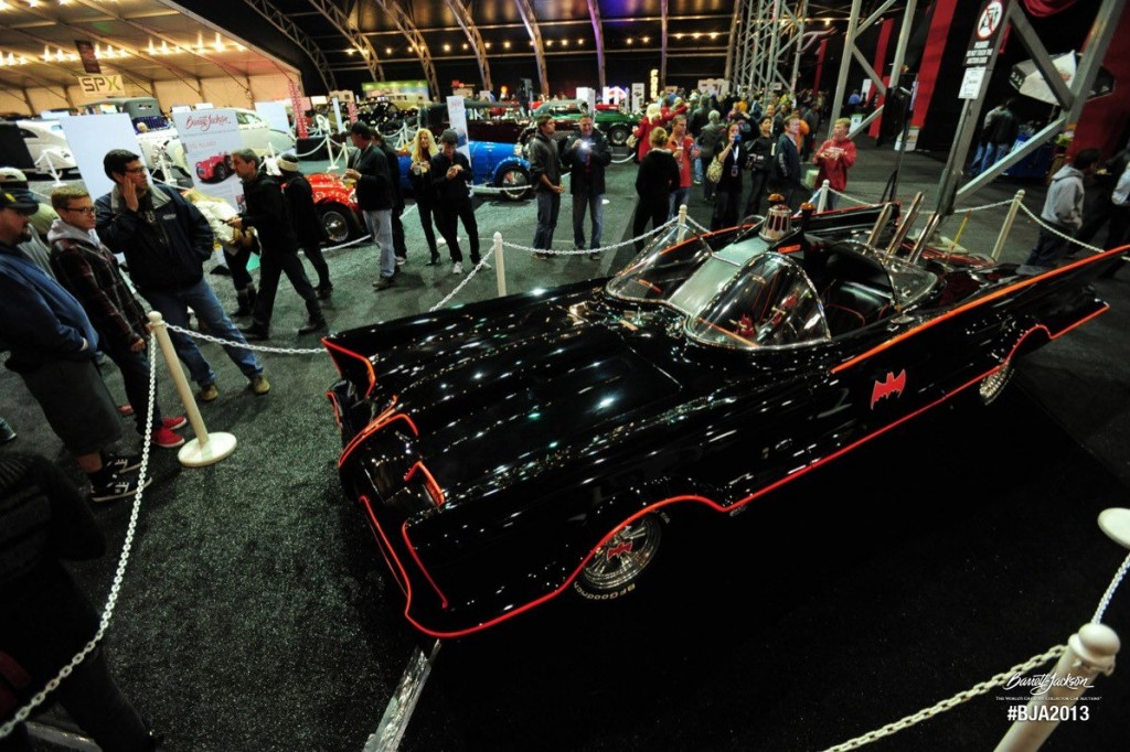 Barret-Jackson vende un Batmobile original de 1966