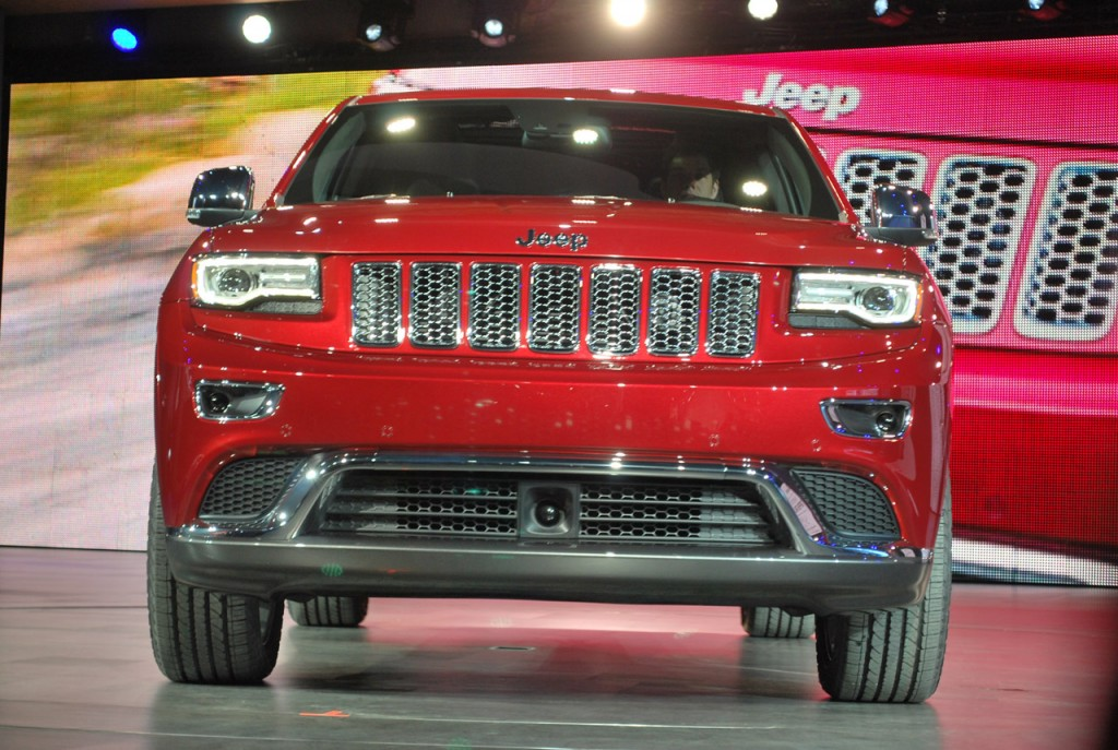 Detroit 2013: Jeep Grand Cherokee