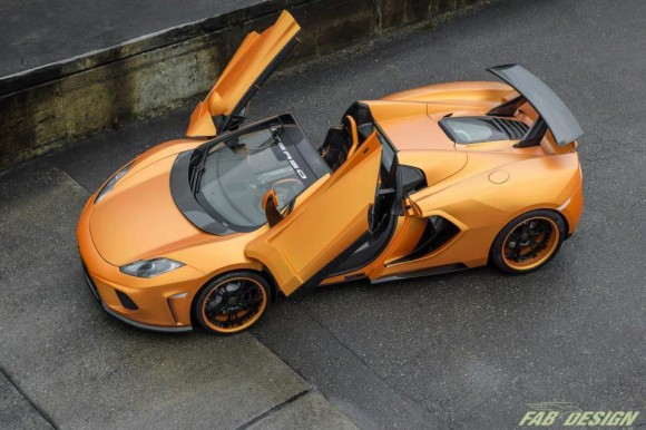 FAB Design Mclaren MP4 12C Spider