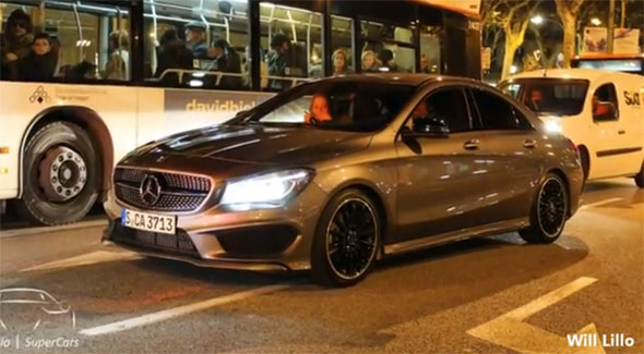 Mercedes CLA con AMG Package, en Barcelona